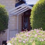 Black Swan Winery Arbor entrance ideal for wedding photos