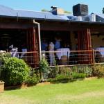 Black Swan Winery Restaurant Wedding Reception