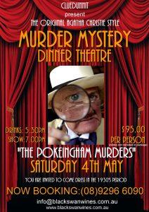 Black Swan Winery Murder Mystery Agatha Christie