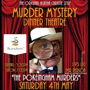 Black Swan Winery murder mystery theatre