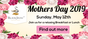 Black Swan Winery Mothers Day banner